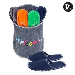 Borsa di Benvenuto con Pantofole