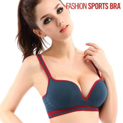 Sujetador Fashion Sports Bra Rosa XL