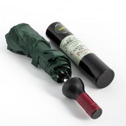Weinflaschenregenschirm
