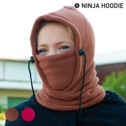 Cagoule Multifonction Ninja Hoodie Marron