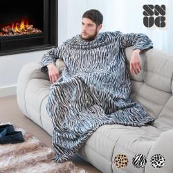 Big Tribe Snug Snug Decke mit Ärmeln Leopard