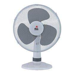 Grupo FM Ventilador de Sobremesa S130 30 cm 3A 35W Blanco