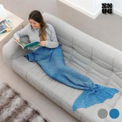 Coperta Sirena Snug Snug One Mermaid Grigio