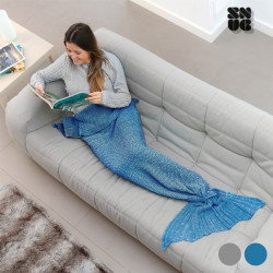 Sirena Snug Snug One Mermaid Blanket Grey