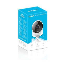 D-Link HD 180 Graden Câmara de segurança IP interior Cubo Teto/parede 1280 x 720 pixels