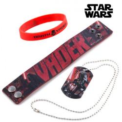 Bracelets et Collier Darth Vader (Star Wars)