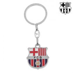 F.C. Barcelona Silver Key-chain