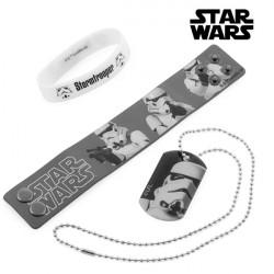 Bracciali e Ciondolo Stormtrooper (Star Wars)
