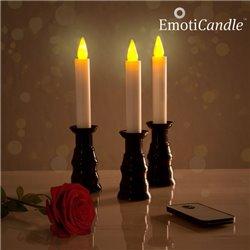Candele LED Romantic Ambiance EmotiCandle (pacco da 3)