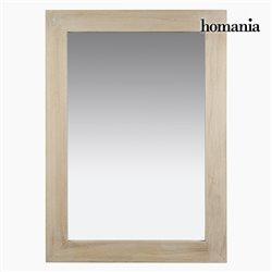 Mirror Natural (75 x 6 x 106 cm) by Homania