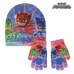 Bonnet et gants PJ Masks