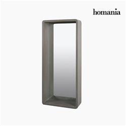 Spiegel Grau (40 x 15 x 90 cm) by Homania