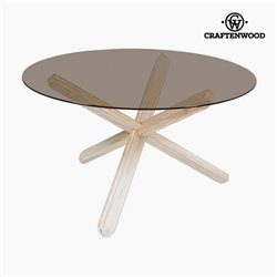 Centre Table Mindi wood (130 x 130 x 79 cm) by Craftenwood