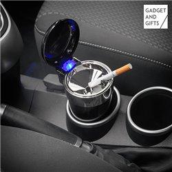 Cinzeiro com Tampa e LED para o Carro Gadget and Gifts