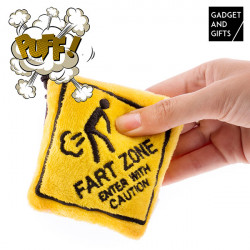 Gadget and Gifts Fart Zone Key Ring