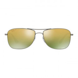 Herrensonnenbrille Ray-Ban RB3543 029/6O 59 GUN/GRN P (52 mm)