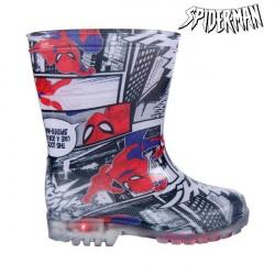 Botas de Agua Infantiles con LED Spiderman 2515 (talla 28)