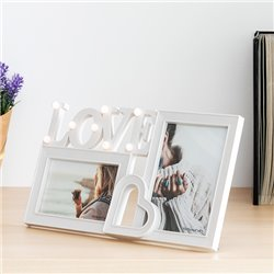 LED Love Photo Frame (2 Photos)