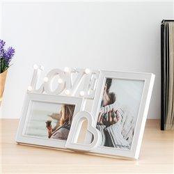 Portafotos LED Love (2 Fotos)