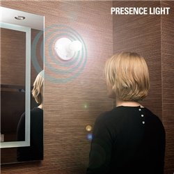 Portabombillas con Sensor de Movimiento Presence Light
