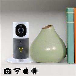 Videocámara de Vigilancia HD WIFI 145147 Plateado