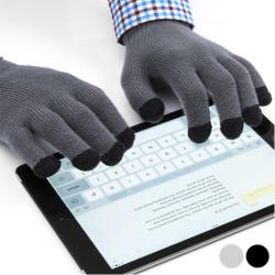Guanti per Schermi Touchscreen 145131 Grigio