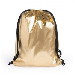 Backpack with Strings 145580 Gold