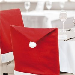Chair Cover Father christmas hat (50 x 62 cm) 144260 Red