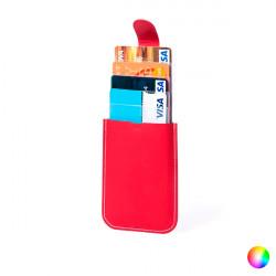 Porte-Cartes RFID avec Mécanisme Automatique 145818 Rouge