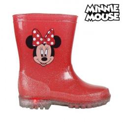 Stivali da pioggia per Bambini con LED Minnie Mouse 73498 Rosso 27