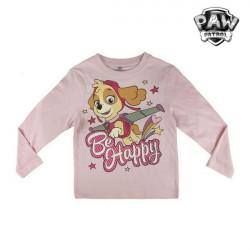 """Camisola de Manga Comprida Criança The Paw Patrol 72360 Cor de rosa """"6 anos"""""""