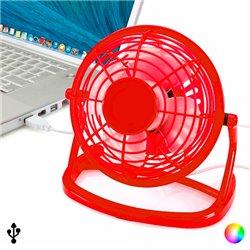 Mini Ventilator mit USB für Computer 144389 Rot