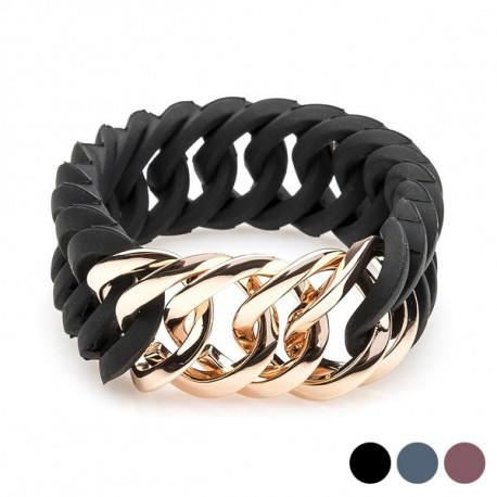 "Bracelete feminino TheRubz Preto ""25 mm x 18 cm"""