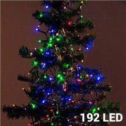 Luzes de Natal Policromáticas (192 LED)