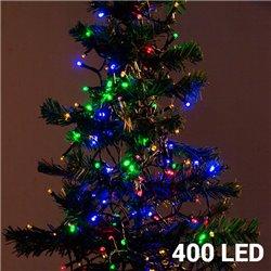 Luzes de Natal Policromáticas (400 LED)