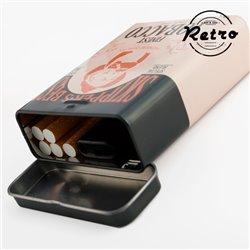 Cigarreira Metálica Retro