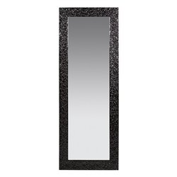 """Espelho Dm Preto """"98 x 76 cm"""""""