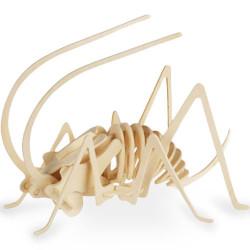 Puzzle de Esqueleto de Animal em Madeira