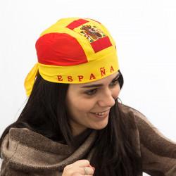 Bandana mit Spanischer Flagge