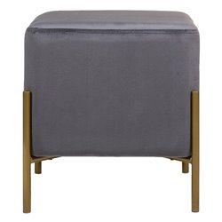 Banqueta (37 x 37 x 40 cm) Cinzento