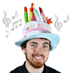 Gorro de Cumpleaños Musical Th3 Party