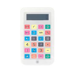 Kleiner iTablet Taschenrechner Rosa