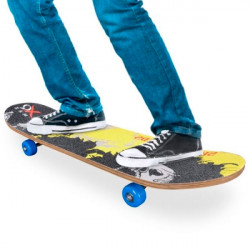 Wooden Skateboard (4 wheels)