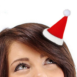 Haarspange Nikolausmütze