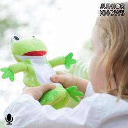 Rana de Peluche Grabador y Reproductor de Voz Junior Knows
