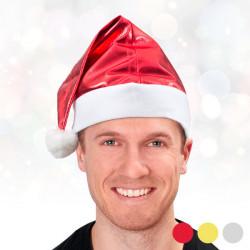 Cappello di Babbo Natale Metallizzato Dorato