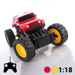 Tout-Terrain Télécommandé Monster Truck Jaune