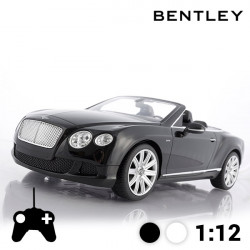 Voiture Télécommandée Décapotable Bentley Continental GT Noir