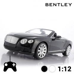 Voiture Télécommandée Décapotable Bentley Continental GT Blanc