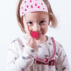 Princess Accessories for Funny Photos (pack of 12)